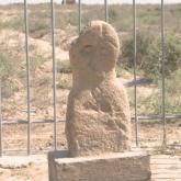 Түркістан облысында балбал тас табылды