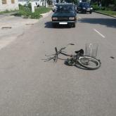 Ақсуда велосипедші баланы көлік қағып кетті