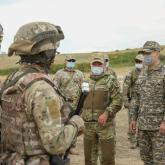 Министр жауынгерлердің Армия халықаралық ойындарына дайындығын тексерді