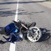 Көкшетау қаласының 48 жастағы мотоцикл жүргізуші жол апатынан мерт болды