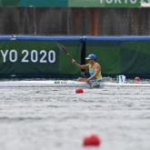 Наталья Сергеева байдарка есуден Олимпиаданың ширек финалына шықты