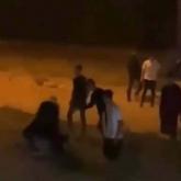 Ақсу қаласында жаппай төбелес болды
