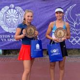Қазақстандық теннисші халықаралық жарыста жеңімпаз болды