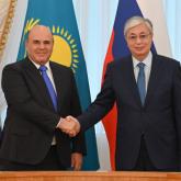 Тоқаев Ресей премьер-министрі Михаил Мишустинмен кездесті