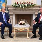Тоқаев: Тәжікстан алдағы самиттерге өте жоғары дайындығын көрсетті
