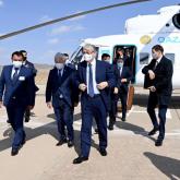Президент Жамбыл облысына барды