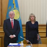 Қасым-Жомарт Тоқаев Еуропалық Одақ делегациясын қабылдады