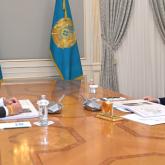 Бюджетке төлеп отырған салық мөлшері 90 млрд теңгеге дейін артты: Президент ірі компанияның басшысын қабылдады