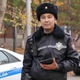 «Менің бір күнім екіншісіне ұқсамайды» – патрульдік полиция батальонының қызметкері