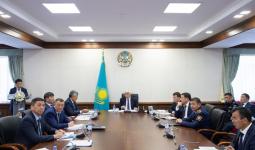 Баталов бірінші орынбасарына, Қапшағай әкіміне сөгіс берді
