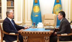 Президент Тимур Құлыбаевты қабылдады