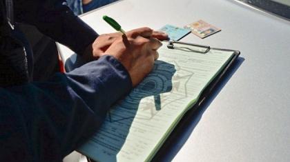 Шымкент полицейлері электронды хаттама толтыруды білмейді