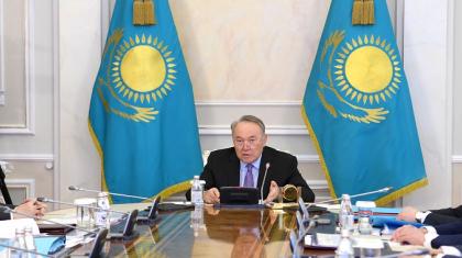 Нұрсұлтан Назарбаев: Ассамблея осындай жағдайлардың алдын алуы керек (ВИДЕО)