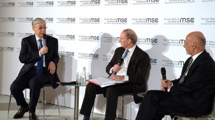 Тоқаев қауіпсіздік жөніндегі Мюнхен конференциясына қатысты