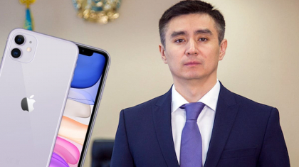 «iPhone алғанын мойындаған» экс-әкімге сот үкімі шықты
