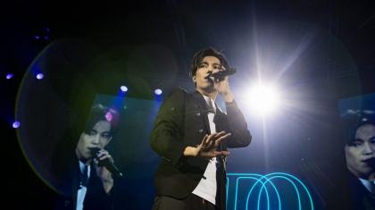 Димаш Құдайбергеннің Латвиядағы концерті қалай өтті? (ФОТО)