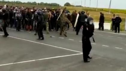 Қазақстан – Ресей шекарасында полиция мен мигранттар қақтығысып қалды