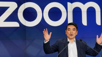Zoom-ның негізін қалаушы бір күнде 5 миллиард доллар тапты