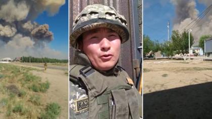 Жарылыс жемқорлық кесірінен болды – Арыста жылап видео түсірген әскери шындығымен бөлісті