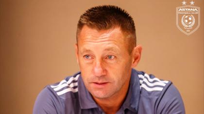 «Астана» футбол клубының жаңа бас бапкері тағайындалды
