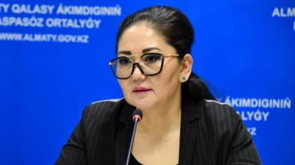 Алматының бұрынғы бас санитары Айзат Молдағасымова жаңа қызметке барды