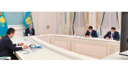 Тоқаев Қазақстанның Еуразиялық экономикалық одаққа төрағалығы жайында пікір алмасты