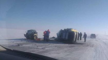 Қостанай облысында жол апатынан 7 адам қаза тапты