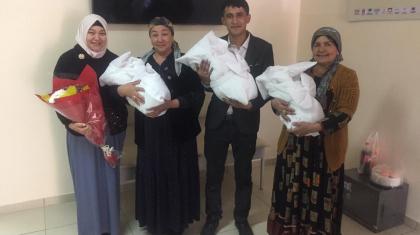 Түркістандық дәрігерлер шала туған үшемнің өмірін сақтап қалды