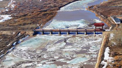 Ақмола облысындағы су тасқыны болуы мүмкін аймақтар әуеден тексерілді
