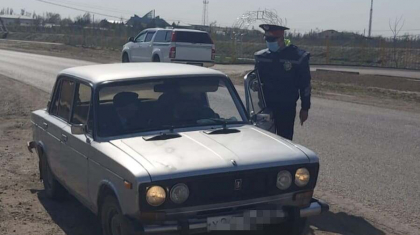 Түркістан облысында мас күйде көлік айдаған 4 азаматқа қатысты сот шешімі шықты
