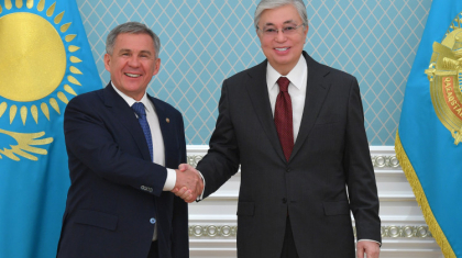 Тоқаев Татарстан президентімен кездесті