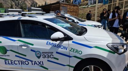 Медеу-Шымбұлақ бағыты бойынша енді электр такси жүреді