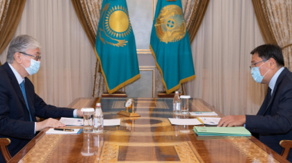 Мемлекет басшысы Ұлттық банк төрағасын қабылдады