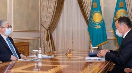 Президент «Қазақстан темір жолы» басшысына тапсырма берді
