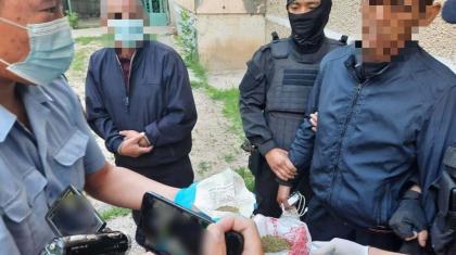 Түркістан облысында есірткі сатумен айналысқан 6 күдікті ұсталды