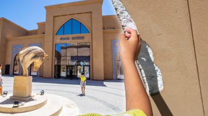 Түркістанда миллиардтаған ақшаға салынған «Керуен сарайдың» қабырғасы пенопластан жасалған болып шықты