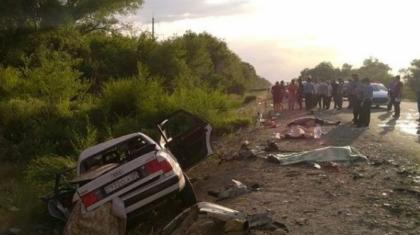 Алматы облысында жантүршігерлік жол апатынан 7 адам қаза тапты