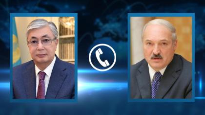 Тоқаев пен Лукашенко телефон арқылы екі елдің қарым-қатынасын талқылады