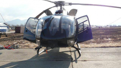 Алматы облысында EC 130B4 тікұшағы қатты қонды - ААК