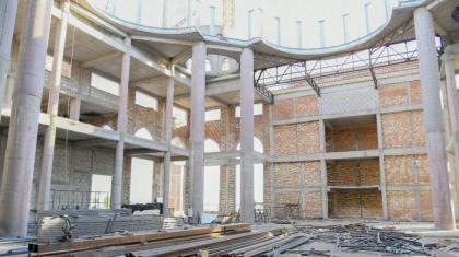 Өзбекстанның тартуы: Түркістанда 5 мың орындық зәулім мешіт салынып жатыр
