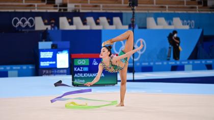 Көркем гимнастика: Алина Әділханова Олимпиаданың финалдық кезеңіне шыға алмады