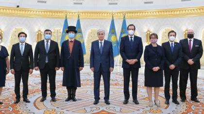 Қасым-Жомарт Тоқаев бірқатар мемлекеттің елшілерінен сенім грамоталарын қабылдады