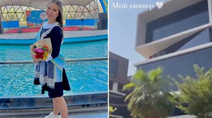 «Менің университетім». Тұрсынбек Қабатовтың қызы Дубайда жүрген видеосын жариялады