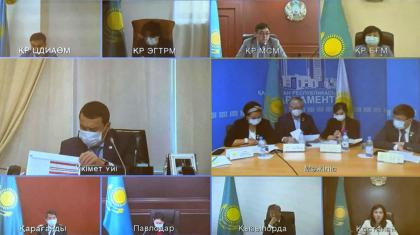 Жатақхана мәселесі, әлеуметтік көмек: «Nur Otan» партиясының сайлауалды бағдарламасын іске асыру жөніндегі штаб отырысы өтті