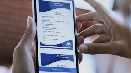 Нұр-Сұлтанда вакцина паспортын қолдан жасап сатқандар ұсталды
