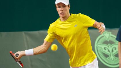 Дмитрий Попко Astana Open ATP 250 турнирінің іріктеу сайысын сәтті бастады