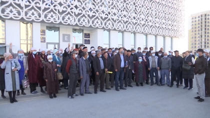 Түркістан облысында бір ауылдың тұрғындары түгелдей сотқа келді