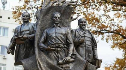 Украинада Абайдың ерекше ескерткіші ашылды